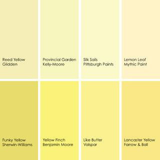 Yellow runs the gamut from fresh light greenish yellows for Best neutral yellow paint colors