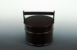 五代宗哲 利休真手桶水指|松阪市の茶道具専門店なら「ギャラリー森田」
