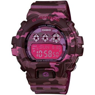 Casio G-SHOCK Camo Pink GMDS6900CF-4 Watches for sale from Authorized Dealer - Donaldson Watch Repair in Arizona