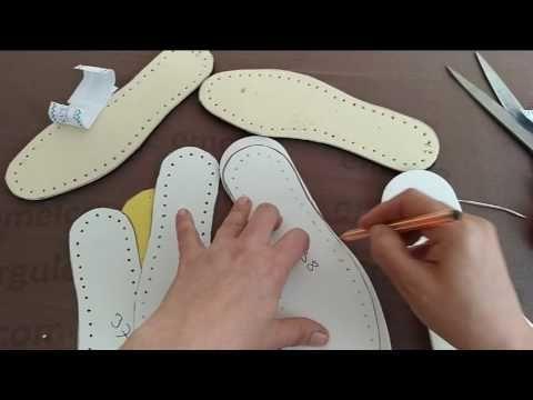 Keçe Taban Nasıl Hazırlanır - YouTube