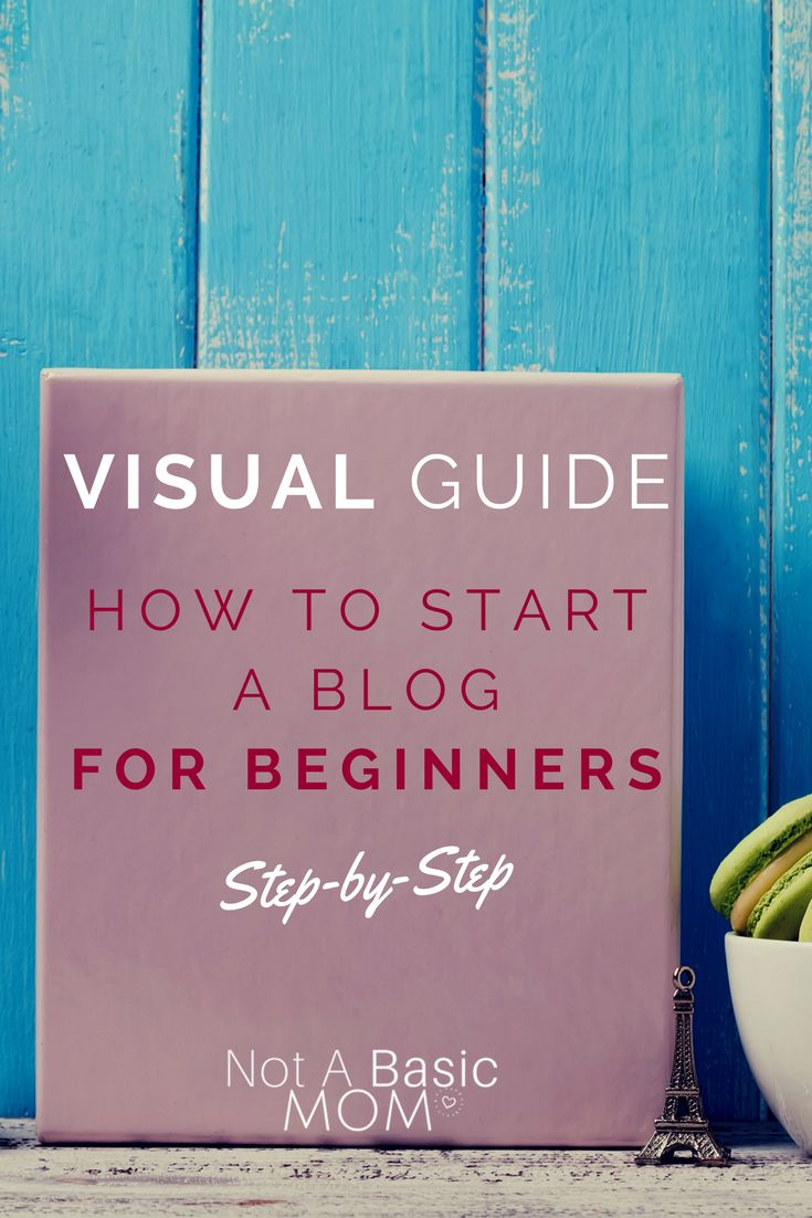 Step By Step How To Start A Blog For Beginners - Not A Basic Mom-Unconventional Mom,Entrepreneur & Visionary
