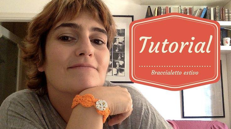 Come realizzare un braccialetto estivo in cotone facilissimo e velocissimo!  https://www.youtube.com/playlist?list=PLc4wXK-RUPyd5vrCgcpykGivcdEkXngmc  #crochet #uncinetto #braccialetto estivo #braccialetto #tutorial #video #cotone #cotton #bracelet #per filo e segno