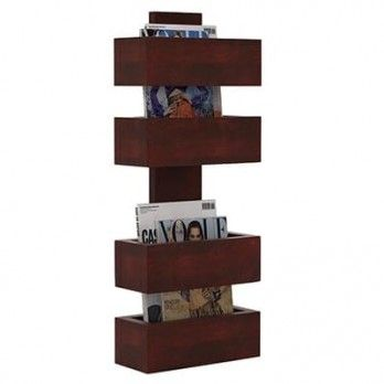 Buy #Clooney #Magazine #Holder (Mahogany Finish) Online from Wooden Street. Shop for a wide range of magazine racks and magazine stand with amazing designs online and get best deals on wooden magazine racks. Visit : https://www.woodenstreet.com/magazine-rack Available in #Chandigarh #Chennai #Coimbatore #Delhi #Faridabad #Ghaziabad