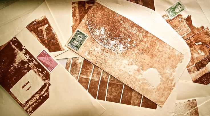 Old letters  - are they love letters? by Daisy Grisolia