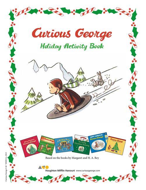 Curious George Christmas Activity Book