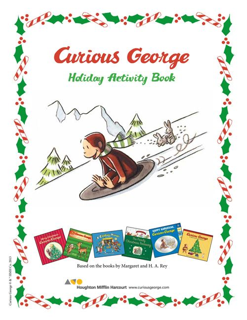 Curious George Christmas Activity Book