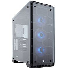 Corsair Crystal 570X RGB Black ATX Case available to buy online from PC Case Gear – Australia's Premier Online PC Store.