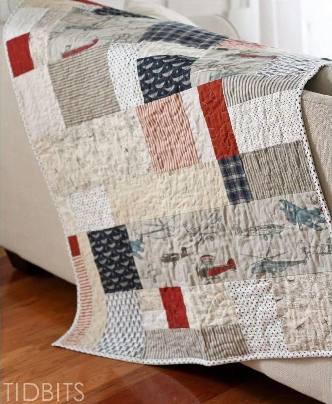 Simple Lazy Quilt Tutorial | Always wanted to try quilting? Then this beginner scrapbusting project is perfect for you!