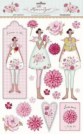 mujercitas en rosa