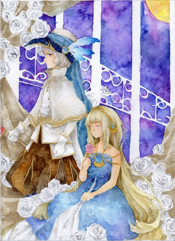 Phantom and Aria by Ayuanlv.deviantart.com on @deviantART