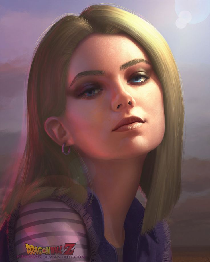 Realistic Android 18 by Kimonas.deviantart.com on @DeviantArt