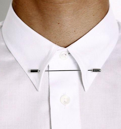 Minimalist Accessories   Margiela pin down collar - I must DIY! or DIM- do it myself...