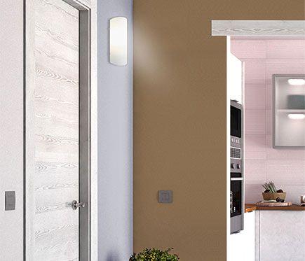 Aplique 1 luz blanco Inspire HANKO - Leroy Merlin