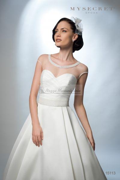 Abito Da sposa senza tempo con gonna ampia MY Secret Sposa http://www.nozzemeravigliose.it/matrimonio/atelier-sposa/bari/my-secret-sposa/397