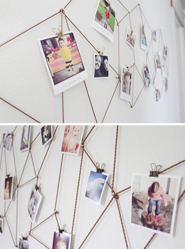 geometric string art photo or art print display (The Caldwell Project)