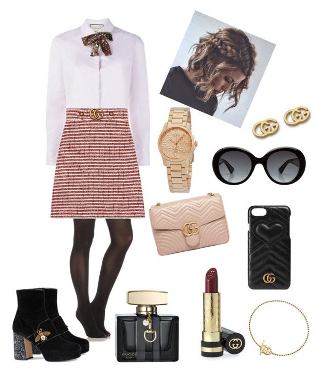 """""""Head to Toe Gucci"""" by amanda-barrett on Polyvore featuring SPANX and Gucci"""