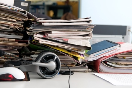 Click below to learn if a messy desk makes you more productive:  http://www.bizorganizing.com/2012/08/does-a-messy-desk-make-you-more-productive/