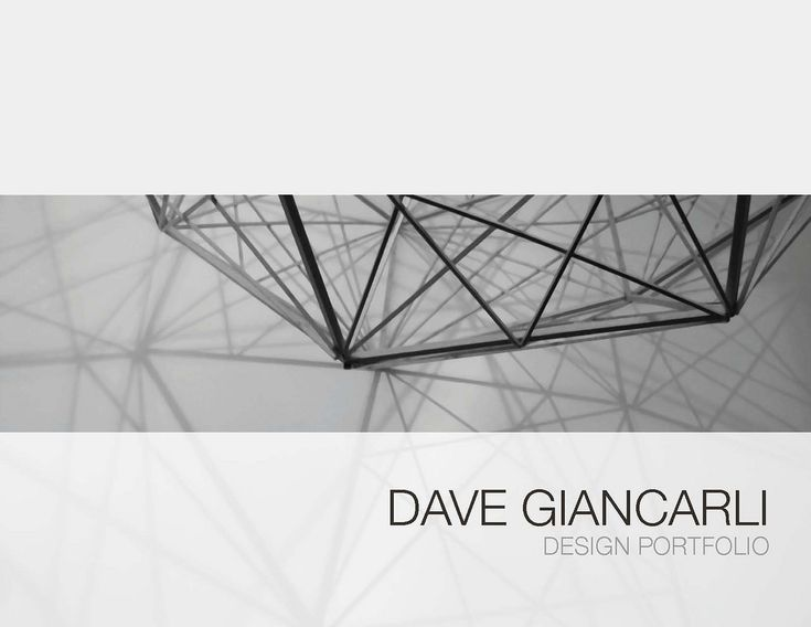 Design Portfolio - Cover Idea | Dave Giancarli | Flickr