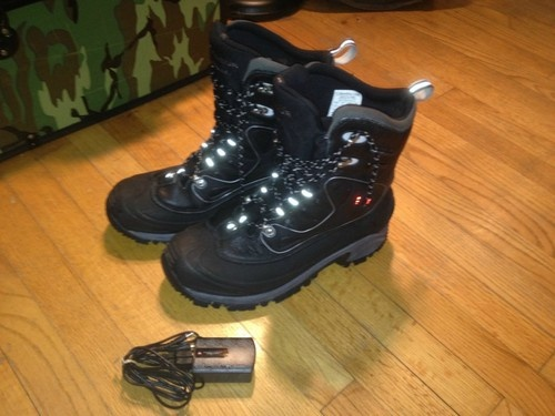 Columbia Bugathermo Winter Boots Electric Heating Option