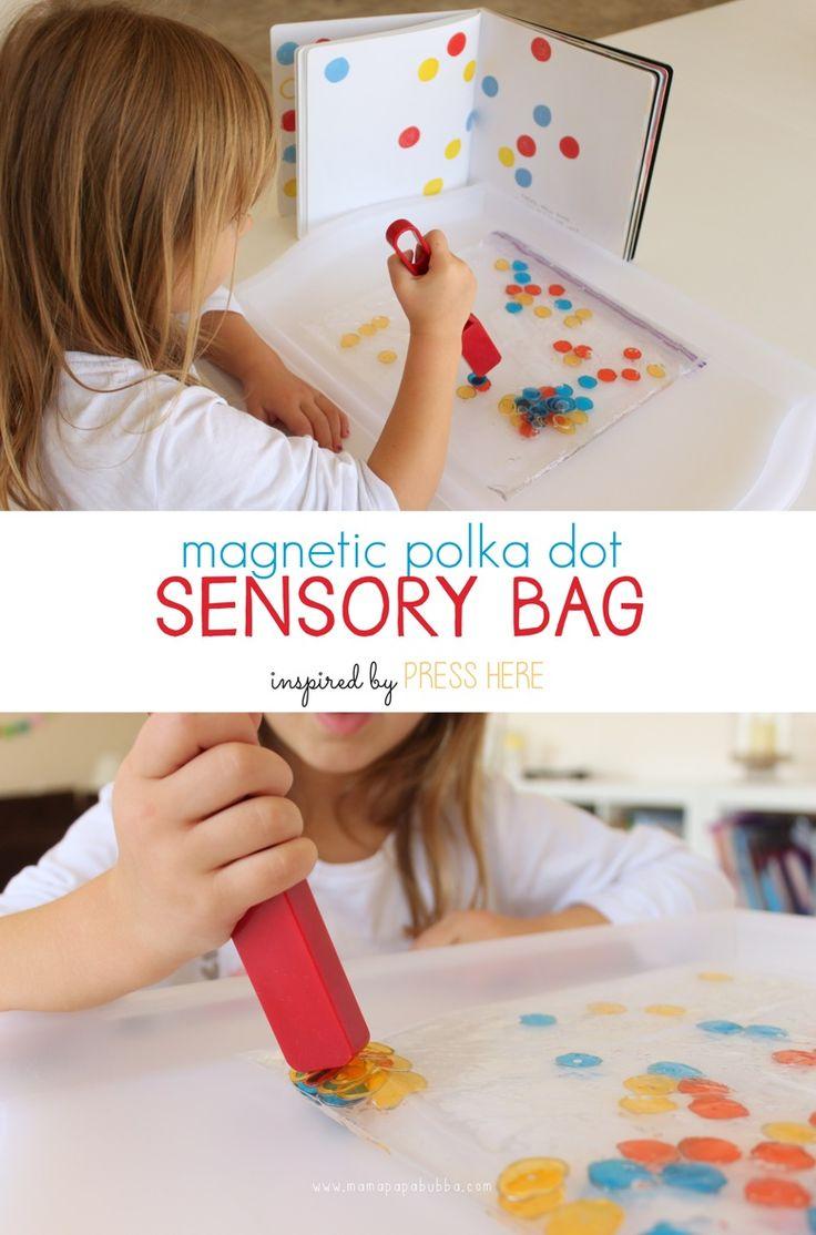 Simply Brilliant!   Magnetic Polka Dot Sensory Bag   Mama.Papa.Bubba..jpg