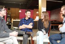 Adam Rothenberg & Lydia Wilson - Great chat with our Stage Door Johnny... click on to watch!