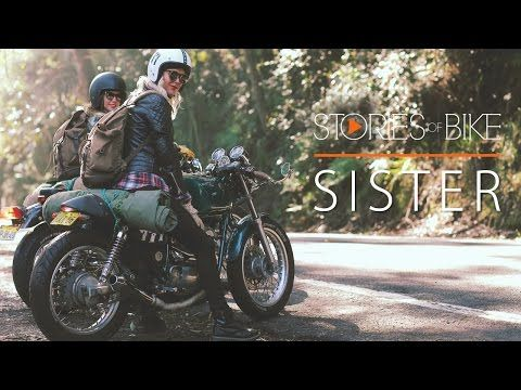 Stories of Bike - Sister - Silodrome | Sister is the latest episode in the popular Stories of Bike film series by director Cam Elkins, this episode features best-friends Maria and Nina – both Swedish women who currently live in Sydney and spend their weekends throwing their swags onto the back of their motorcycles and setting off into the countryside to see what they can see.