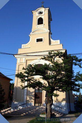 Felsőgallai Szűz Mária Római Katolikus Templom - Tatabánya - Tatabányai Látnivalók