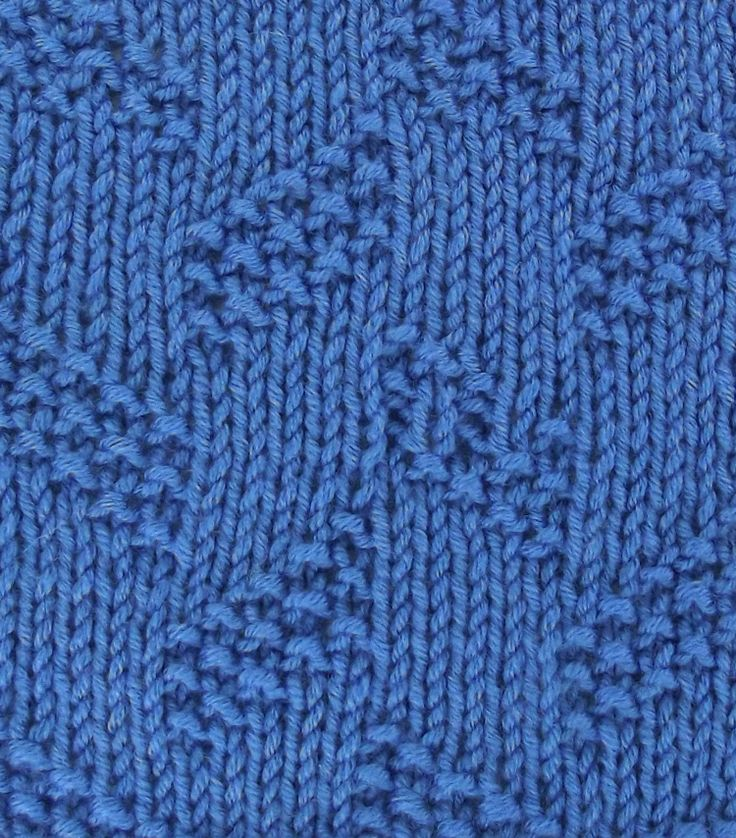 Knit And Purl Stitch Library : 17 Best images about August 2013 Knitting Stitch Patterns on Pinterest Cabl...