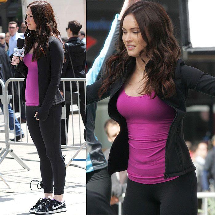 Megan Fox filming 'Teenage Mutant Ninja Turtles' in Gramercy Park, Manhattan, New York, on May 7, 2013
