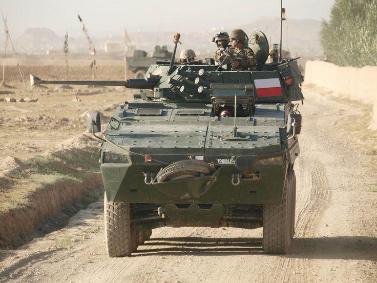 Polish KTO ROSOMAK in Afghanistan