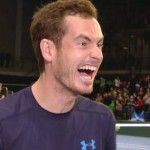 Andy Murray reveals Dominic Inglot has a side chick in Glasgow! His team mate even takes a red face in shame while walking away, Hate to be him when he gets home to his real girlfriend.