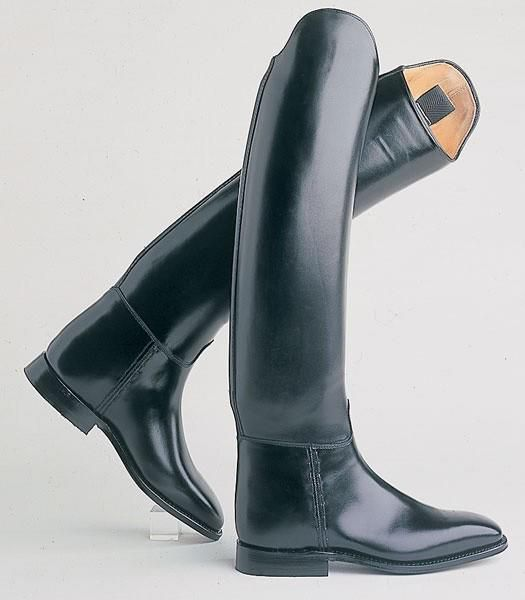 Petrie- Black Leather Riding Boots!