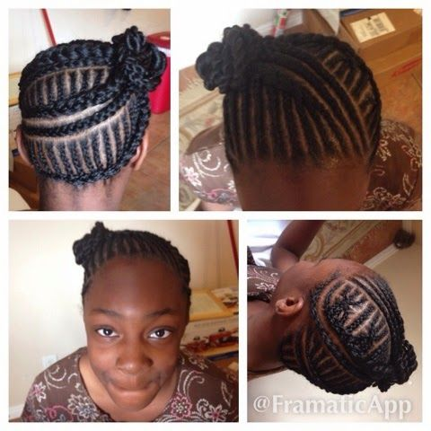 Tremendous 1000 Images About Cornrows On Pinterest Protective Styles Short Hairstyles For Black Women Fulllsitofus