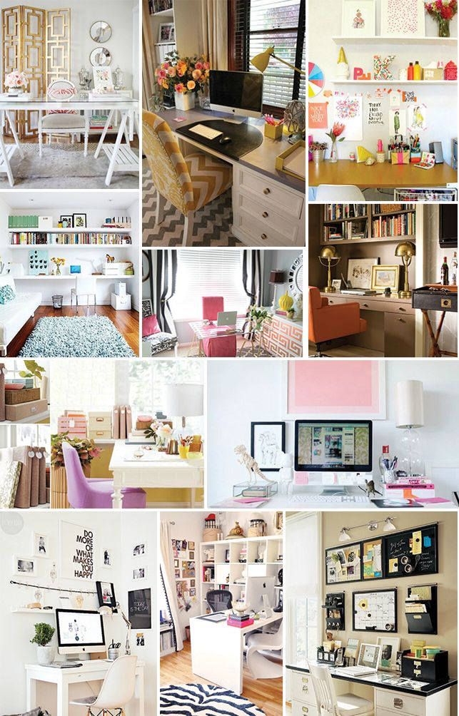= A home office may be the most functional room of the house, but that doesn't mean it has to be plain and lifeless. If you spend a large percent of your day in a dull office, your creativity is bound to suffer! Here are some simple ideas that will transform your work space from …