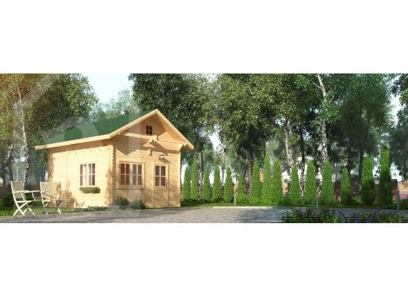 Le chalet avignon chalet en kit pinterest chalet en bois chalet de jardin et jardins en bois - Abri jardin zincalume avignon ...