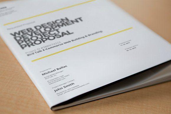 Web Design Proposal by broluthfi  on @creativemarket