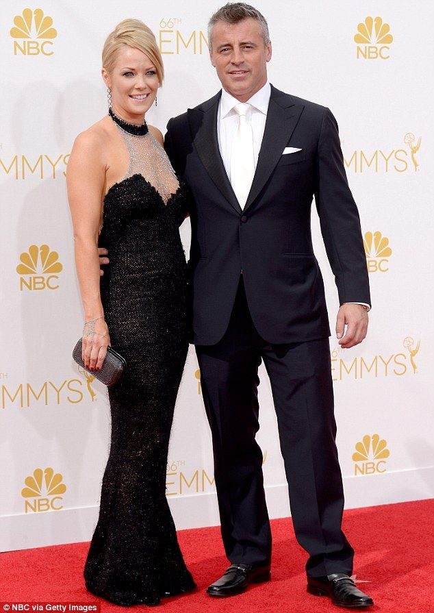 Romance: He then dated Andrea Anders for eight years - they are seen here at the 66th Annual Primetime Emmy Awards in August 2014