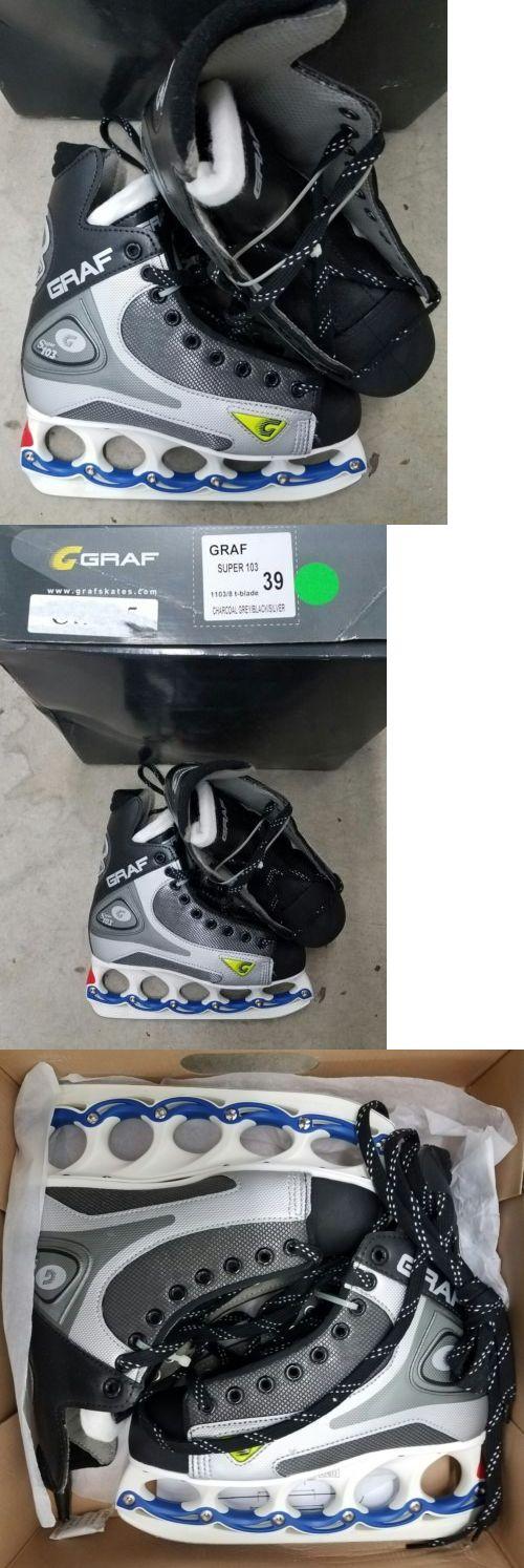 Men 26345: Graf Super Ice Hockey Skates Model Super 103 T-Blade Adult Men 39 / 7 New -> BUY IT NOW ONLY: $79 on eBay!
