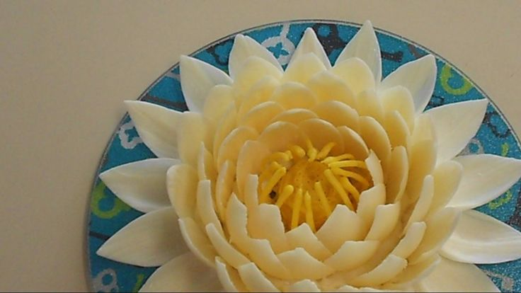 How to make chocolate Lotus flower