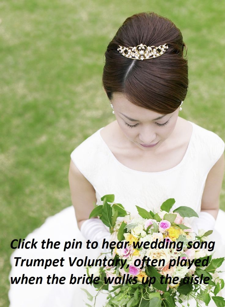 Click The Pin To Hear Song Trumpet Voluntary Performed On Harp