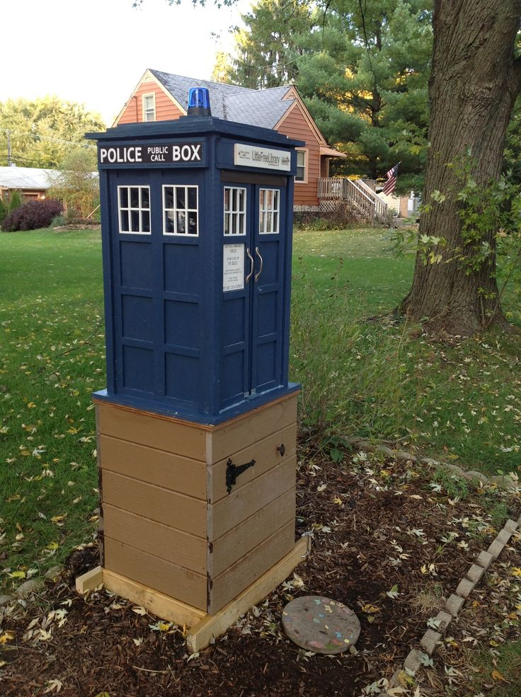 Little Free Library. Stewarded by Anne Blaeske in Lisle, IL.