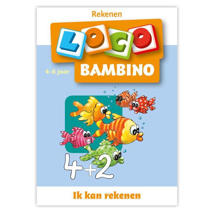 Met dit boekje leren kinderen optellen en aftrekken tot 6. Dit verhoogt het niveau op de rekenvaardigheid. Geschikt voor kinderen vanaf 4 jaar. Afmeting: 21 x 15 cm - Bambino Loco - Ik kan rekenen (4-6)