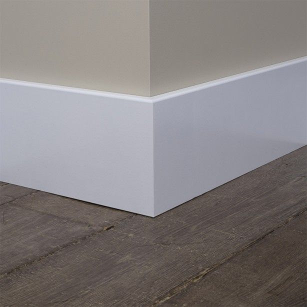 This is the skirting I want. Plain, simple. Preferably painted with oil based to protect from vacuum cleaner bashes!