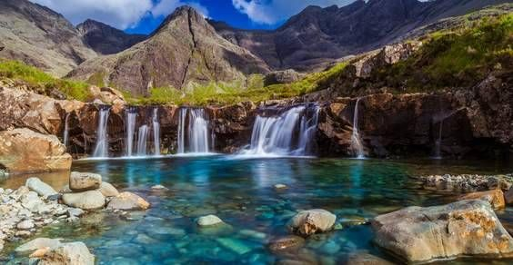 Isle of Skye - Fairy pools - United Kingdom