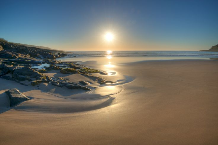 Merry Beach in the morning, NSW