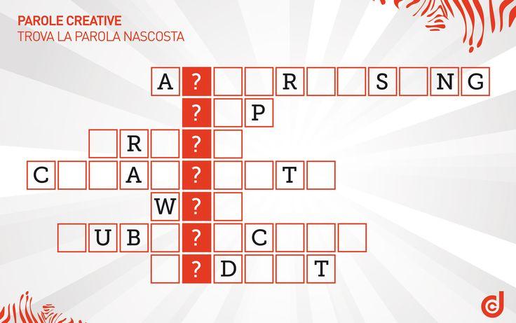 DDC GAME  PAROLE CREATIVE Trova la parola nascosta  #creatività  #game  #giochi  #ddcgame