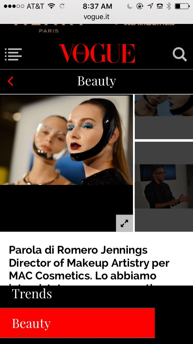 Thank you @vogueitalia  #maccosmetics  #romerojenningsbeauty #VOGUE #extremeeditorialbeautymasterclass  #MIlan     http://m.vogue.it/beauty/the-now-idea/2015/12/trucco-occhi-pennelli-trucco-tutorial-mac-romero-how-to-make-up