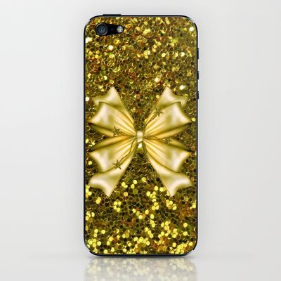 #Society6 Gold iPhone & iPod Skin by Elena Indolfi - $15.00