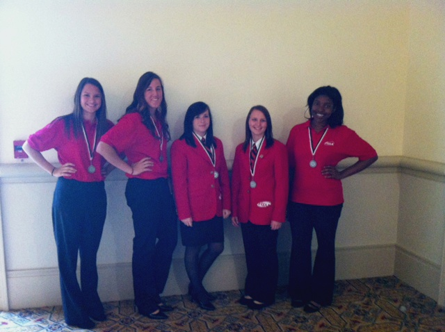 At The 2012 FCCLA National Leadership Meeting In Orlando Florida Tulsa Tech Students Participated Interior Design