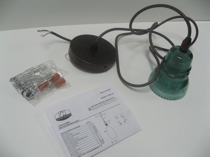 Recycling Glass Insulators Into Pendant Light – Remodelaholic